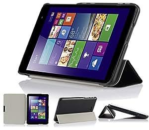 【wisers】Dell Venue 8 Pro 専用 超薄型 軽量 ケース (Venue 8 Pro, ブラック)