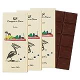 コントワール・デュ・カカオ (Comptoir du Cacao) カカオ70% チョコレート 3枚セット