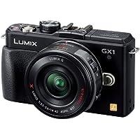 Panasonic ミラーレス一眼カメラ ルミックス GX1 レンズキット 電動ズームレンズ付属 エスプリブラック DMC-GX1X-K