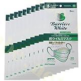 【備蓄用】バリエール抗ウイルスマスクM:BOX-30入り
