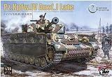 ボーダーモデル 1/35 ドイツ陸軍 IV号戦車 J型 最後期型 w/連結組立可動式履帯 プラモデル BT008