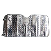 WINOMO フロントカーサンシェード  耐熱性あり ブロックシェード フロントウィンドウサンシェード(140 x 70 cm)