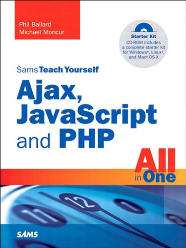 amazon sams teach yourself ajax javascript and php all in one