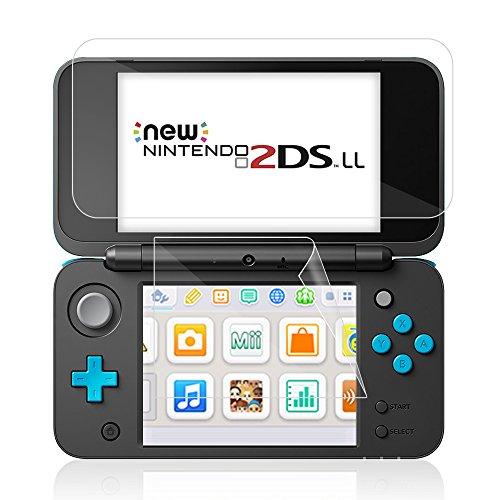 New ニンテンドー2DSLL 液晶保護フィルム 任天堂 Nintendo 2DS LL 専用 保護...