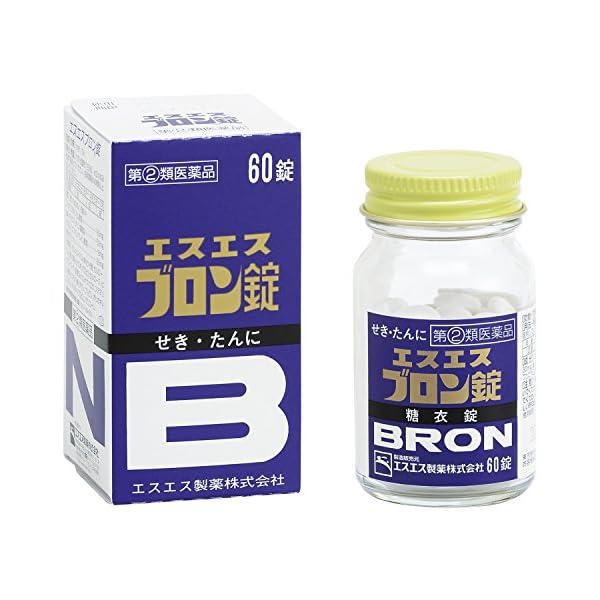 【指定第2類医薬品】エスエスブロン錠 60錠の商品画像