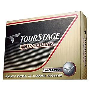 BRIDGESTONE(ブリヂストン) ゴルフボール TOURSTAGE エクストラディスタンス 1ダース( 12個入り) ホワイト TEWX