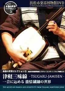 楽器の世界コレクション3 -津軽三味線- 一音に込める 激情繊細の世界 [DVD]
