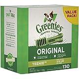 GREENIES Original Teenie Dental Dog Treat, 1kg (130 treats), Adult, Small/Medium/Large