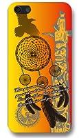 【rocket】スマホケース iPhone7 Plus専用 5.5インチ ドリームキャッチャー オレンジ トーテムポール ネイティブアメリカン インディアン iPhone7 Plusカバー iPhone7 Plusケース