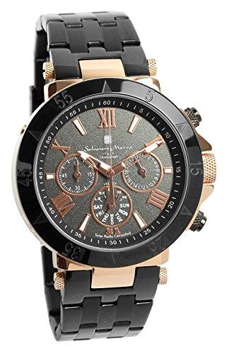 [サルバトーレマーラ]腕時計 ウォッチ 電波ソーラー クロノグラフ 限定モデル イタリアブランド アナログ表示 メンズ 【雑誌掲載モデル】