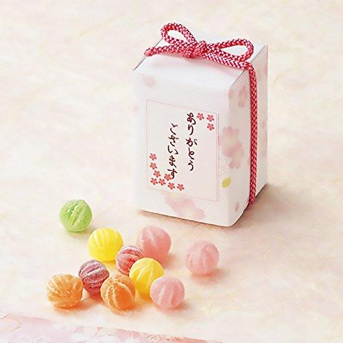 さくらBOX 10個セット プチギフト お礼 イベント 景品 粗品 パーティー 発表会 来店記念 桜 SAKURA まとめ買い 和 飴 てまり飴 キャンディ 結婚式 2次会