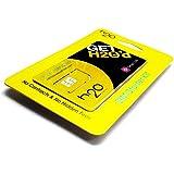 アメリカSIM h2o Wireless MONTHLY30ドル 初月料金コミコミパック LTE通信2GB/通話/テキスト/データ/国際通話も全部コミコミ