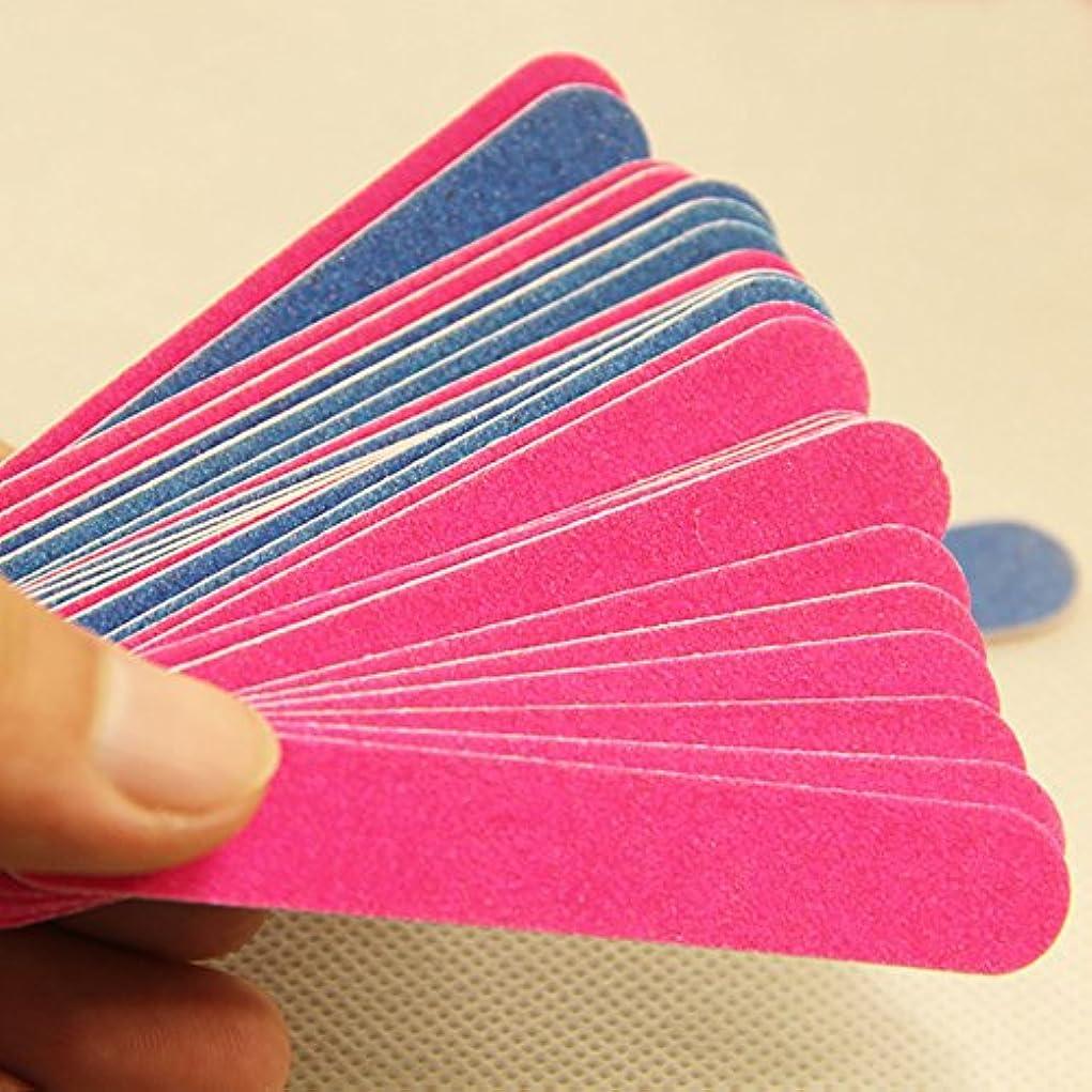 補助見る人製造ネイルケア 爪やすり 爪磨き 100点セット