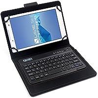 【F.G.S】ブラック TOSHIBA dynabook Tab S38/S68 Bluetoothワイヤレスキーボード 良質PUレザー付き キーボード分離可能 F.G.S正規代理品