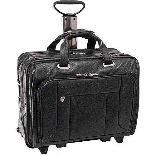 (マックレーンユーエスエー) McKlein USA メンズ バッグ キャリーバッグ West Town Checkpoint 15.6' Wheeled Laptop Case 並行輸入品