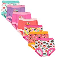 Sesame Street Girls' Toddler Friends 7-Pack Training Pants 2t, 3t, 4t,