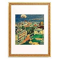 ワシリー・カンディンスキー Wassily Kandinsky (Vassily Kandinsky) 「View of Moscow from the window of Kandinsky's flat on Zhukovsky Square 1」 額装アート作品