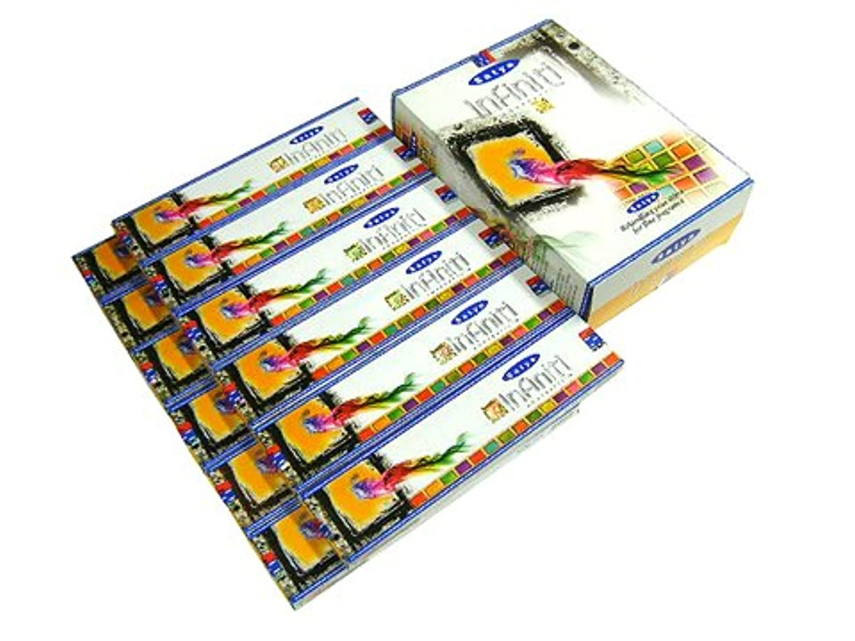 人物刺繍クライマックスSATYA(サチャ) インフィニティ香 スティック INFINITI 12箱セット