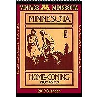 ヴィンテージ ミネソタ ゴールデンゴファーズ 2019 カレッジフットボールカレンダー