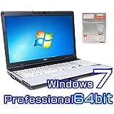 中古ノートパソコン 富士通 LIFEBOOK E742/E 【Windows7 Pro 64bit・ワード エクセル パワーポイント2010付き】