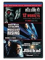 12 Monkeys/Mercury Rising/The Jackal [並行輸入品]