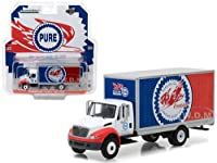 2013 International Durastar Box Truck Pure Oil Co. Firebird Racing Gasoline HD Trucks Series 11 1/64 Diecast Model by Greenlight サイズ : 1/64 [並行輸入品]