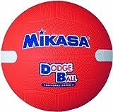 ミカサ 教育用白線入ドッジボール2号 オレンジ 小学校用 D2W O