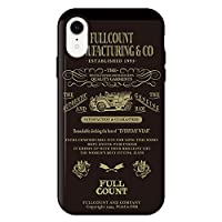 iPhoneXR iPhoneケース (ハードケース) [カード収納/耐衝撃/薄型] FULL COUNT (フルカウント) FC_03 CollaBorn