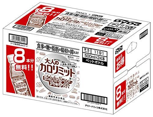 ダイドー 大人のカロリミット はとむぎブレンド茶 500ml ペットボトル 48本 (16+8本入×2 まとめ買い)