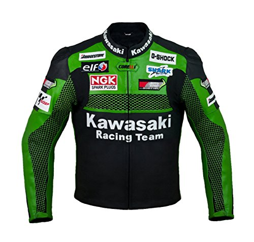 Kawasaki カワサキ レーシングレザージャケット(本革)  【並行輸入】 サイズM,L