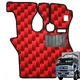 トラック 車種別 サムロマット 運転席のみ/レッド ビッグサム平成7年4月-平成16年11月