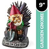 """BigMouth Inc """"Game of Gnomes"""" Garden Gnome Statues"""
