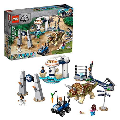 レゴ(LEGO) ジュラシック・ワールド トリケラトプスの暴走 75937