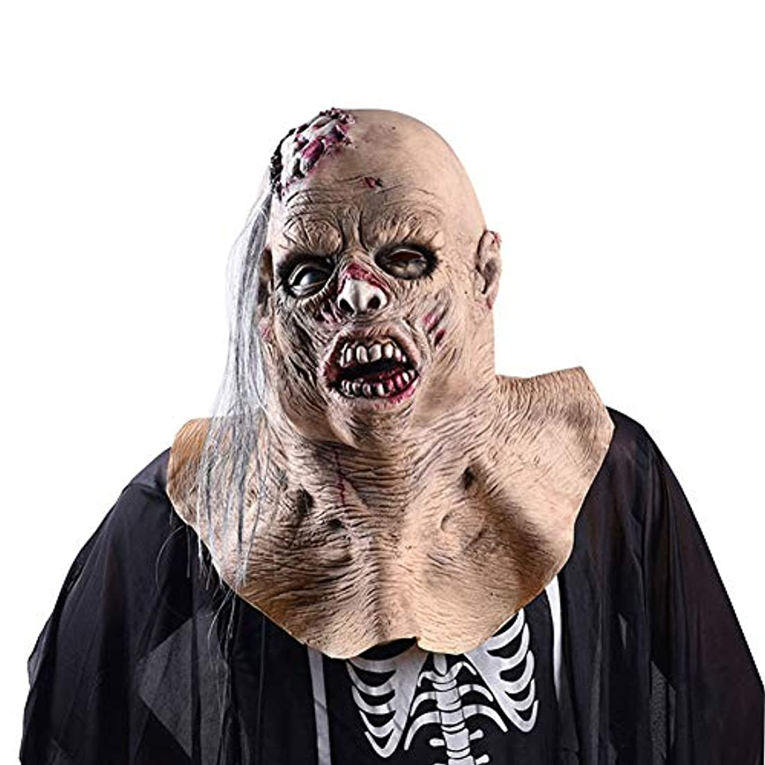 混乱させる簡単にラベルハロウィーンマスク、吸血鬼のラテックスマスク、ハロウィーン、テーマパーティー、カーニバル、レイブパーティー、バー、小道具。