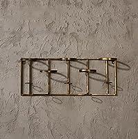 ワインラック壁掛けホームレストラン壁掛け壁掛けロフトクリエイティブバー壁の装飾 (色 : B, サイズ さいず : 59 * 9.8 * 23cm)
