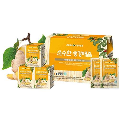GNM自然の品格純粋な生姜梨汁80ml30包/ギフト/健康食...