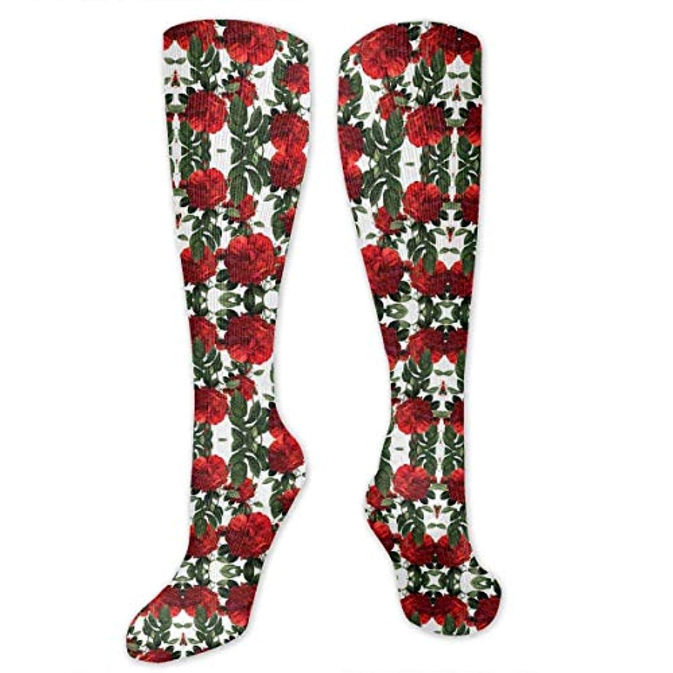 対処とても多くの失う靴下,ストッキング,野生のジョーカー,実際,秋の本質,冬必須,サマーウェア&RBXAA Roses Riot Red Socks Women's Winter Cotton Long Tube Socks Cotton...