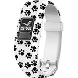 Sibode Watch Band Compatible with Garmin Vivofit 3/ Vivofit JR/JR. 2,Accessories Replacement Bands with Secure Watch Strap fo