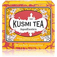 (KUSMI TEA) クスミティー アクアエグゾティカ ティーバッグ (個別包装なし) 2.2g×20袋入り [正規輸入品]
