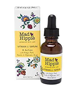 Mad Hippie Skin Care Products, Vitamin C Serum, 8 Actives, 1.02 fl oz (30 ml)