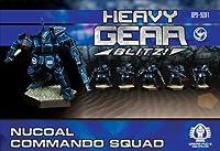 Heavy Gear Blitz: NuCoal - Commando Squad