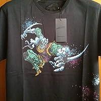 ジョジョの奇妙な冒険 バオー来訪者 BAOH Tシャツ(Mサイズ)黒 ULTRA VIOLENCE