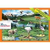 POP Out World 動物&昆虫シリーズ 絶滅寸前の動物であるコアラ