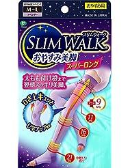 スリムウォーク (SLIM WALK) おやすみ美脚スーパーロング M~Lサイズ ラベンダー