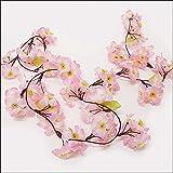 桜装飾 桜ガーランド L180cm / 飾り ディスプレイ 春  6625