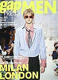 2018 S/S gap PRESS MEN vol.50 MILAN / LONDON (gap PRESS Collections) 画像