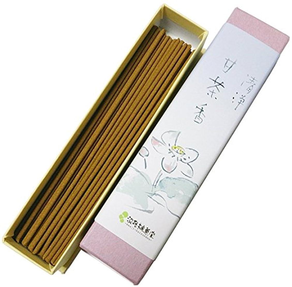 打ち上げるばかげた超える淡路梅薫堂の浄化お香 清浄甘茶香 18g #31 ×100 japanese incense sticks