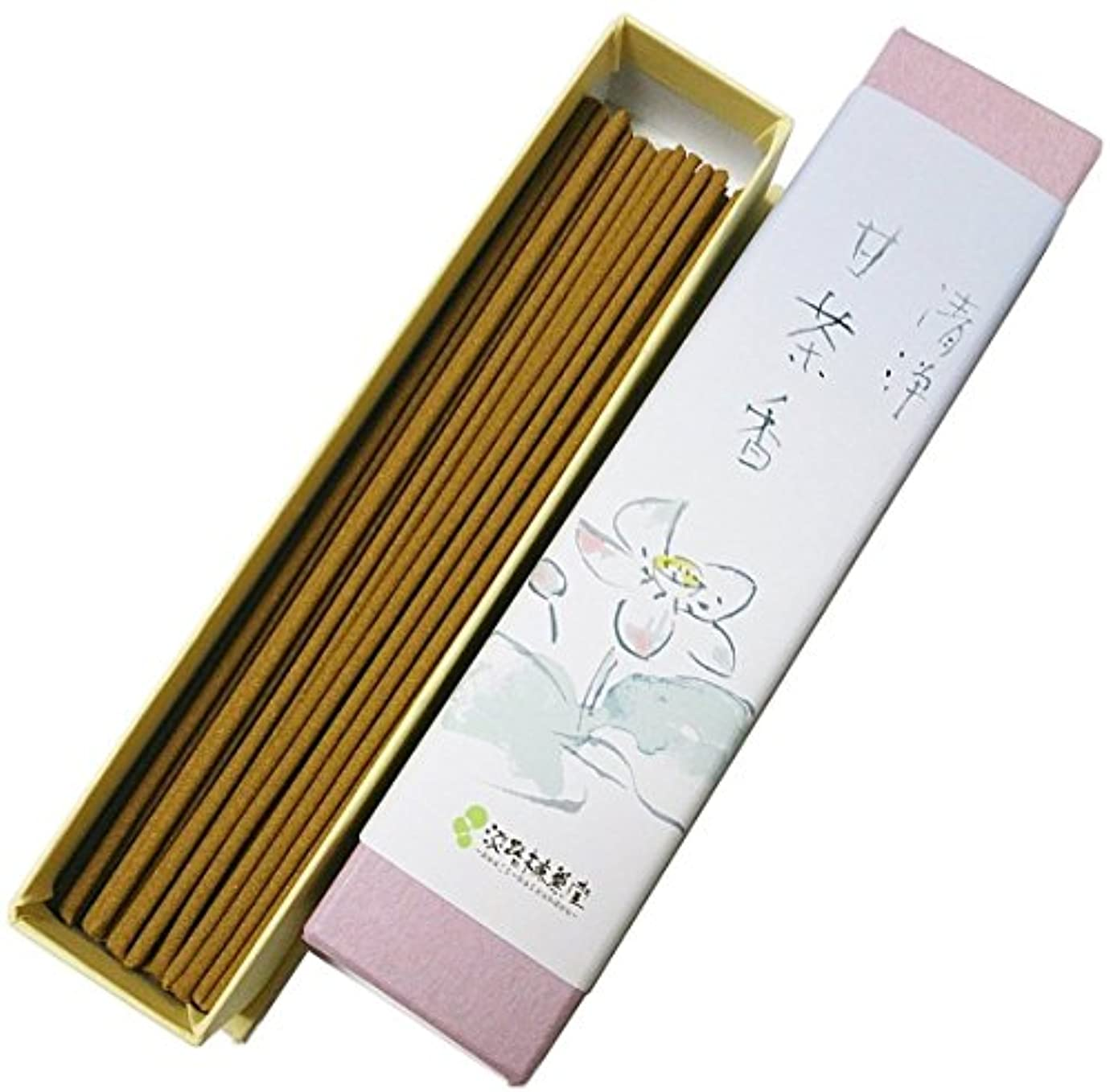 閉塞設計図雰囲気淡路梅薫堂の浄化お香 清浄甘茶香 18g #31 ×200 japanese incense sticks