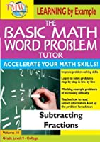 Basic Math Word Problms: Subtracting Fractions [DVD] [Import]