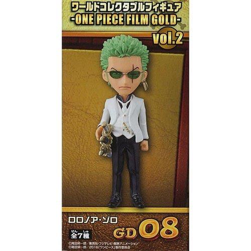 ワンピース ワールドコレクタブルフィギュア ONE PIECE FILM GOLD vol.2 ロロノア・ゾロ 単品 (プライズ)